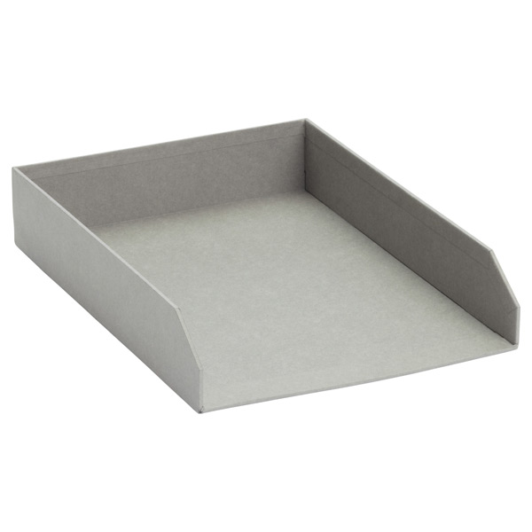 Bigso™ Stockholm Stacking Letter Tray Grey
