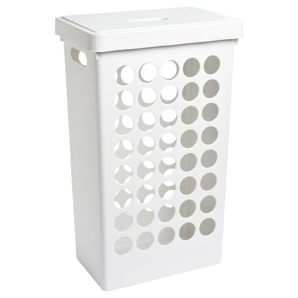 Rectangular Circles Hamper White
