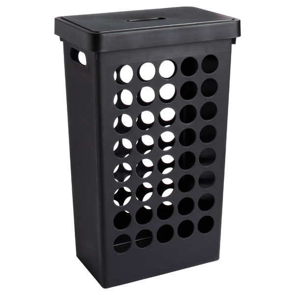 Rectangular Circles Hamper Black
