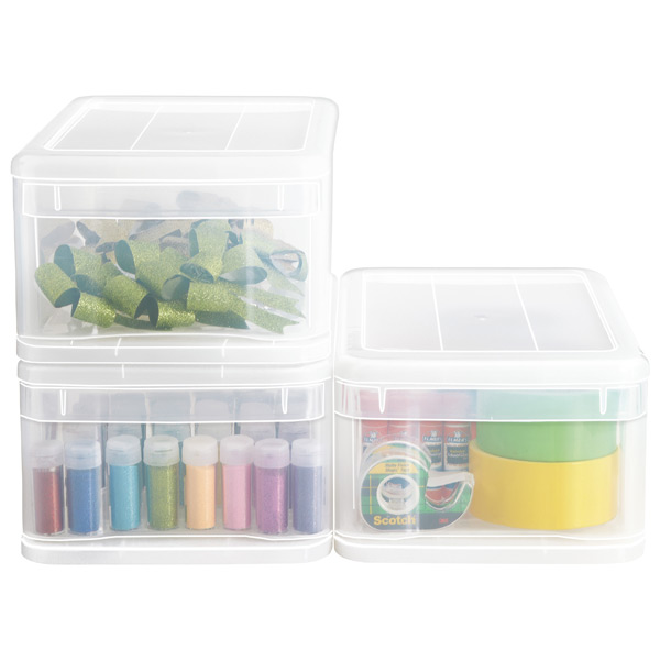 Small Tint Stackable Drawer  sc 1 st  The Container Store & Small Tint Stackable Drawer | The Container Store