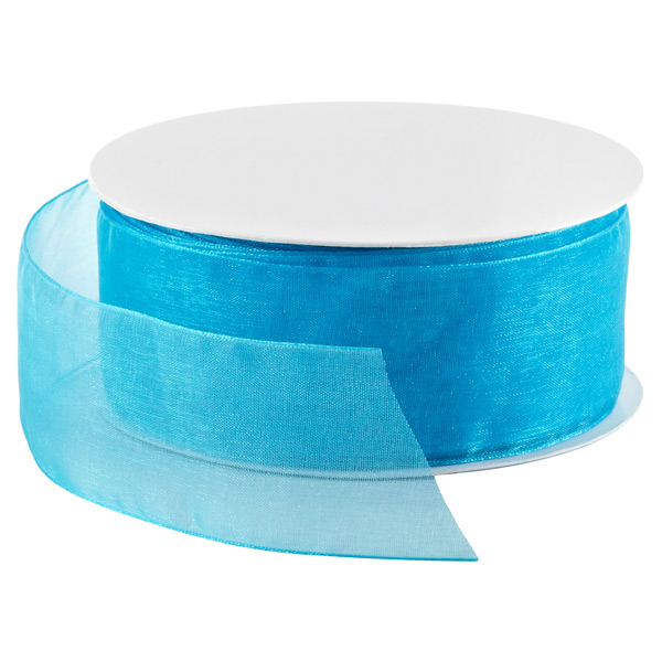 robin s egg blue sheer ribbon the container store