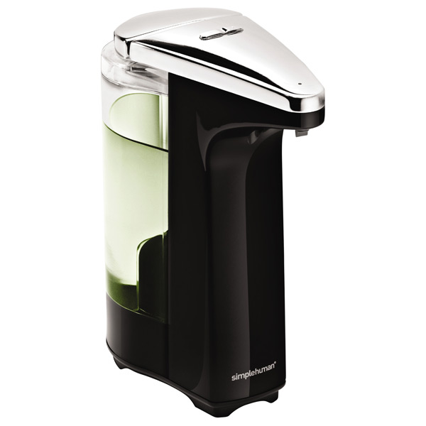 8 oz. Touch-Free Sensor Soap Pump Black