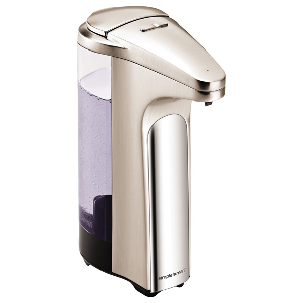 13 oz. Touch-Free Sensor Soap Pump Brushed Nickel