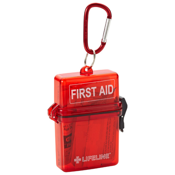 Weatherproof First Aid Kit Red