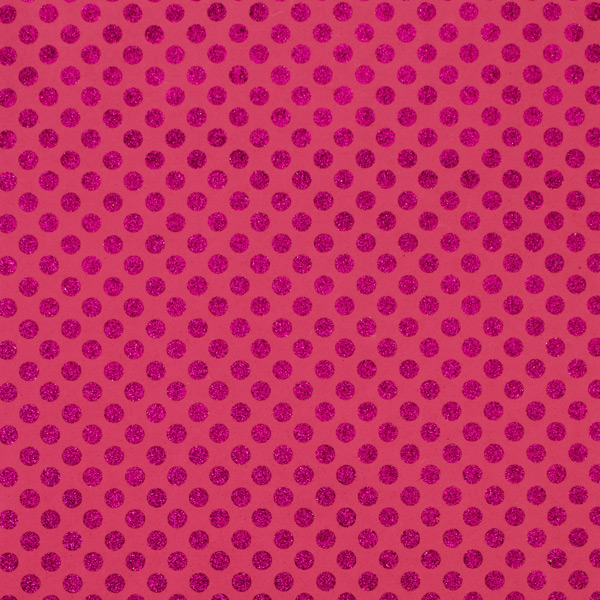 Recycled Wrap Sheets Glitter Dot Pink Pkg/2