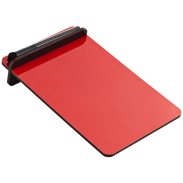 Desktop To-Do Board Red