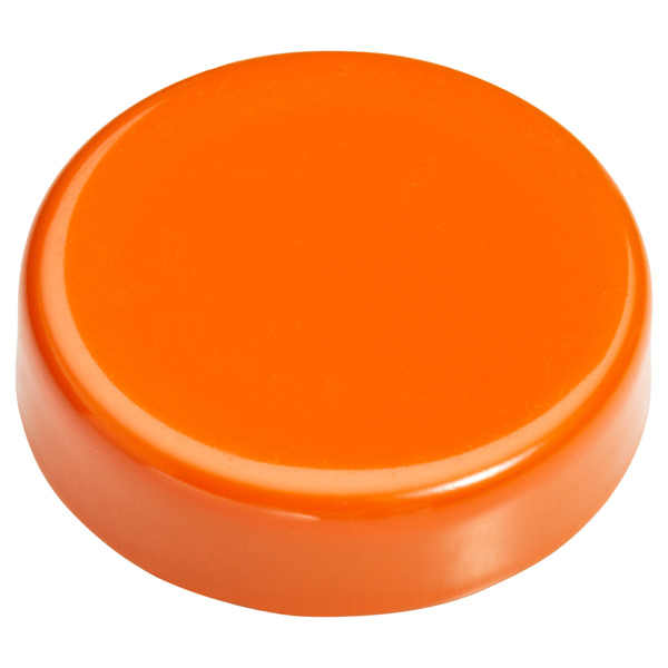 Small Snap! Strong Magnets Orange Pkg/4