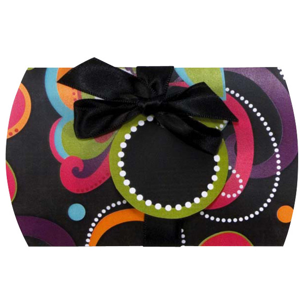 Pop Swirls Gift Card Pouch