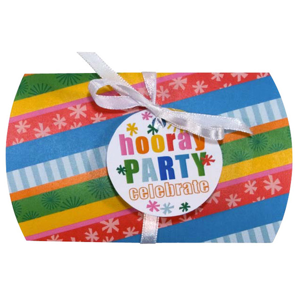 Party Stripe Gift Card Pouch