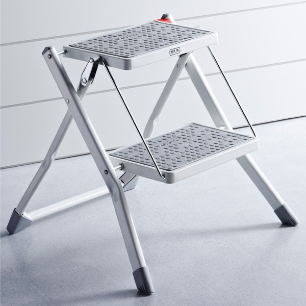 polder slim folding step stool - Step Stool