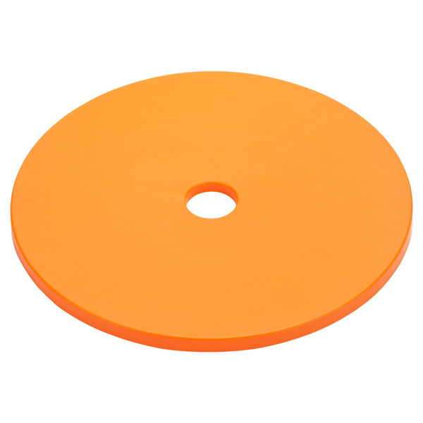 Lid Round Circles Orange