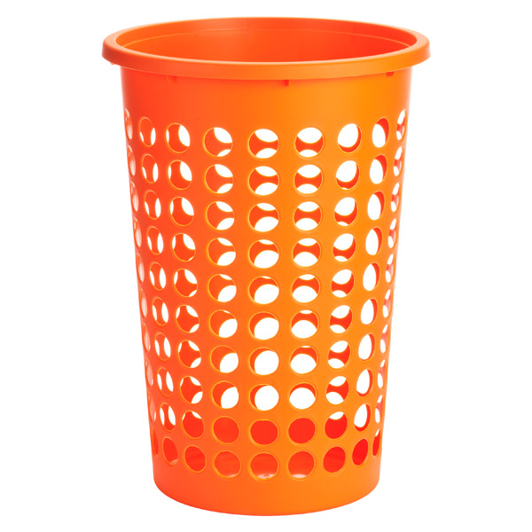 Large Round Circles Hamper Orange