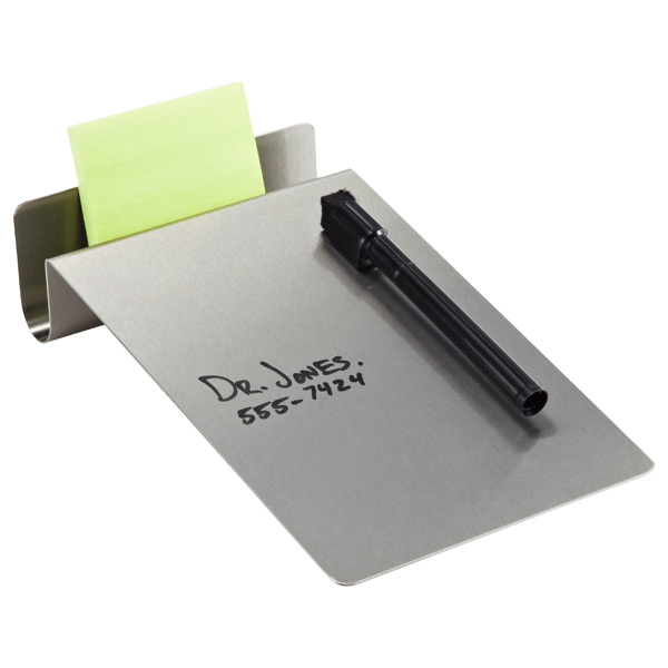 Stainless Steel Desktop To-Do Board