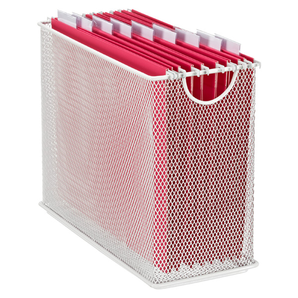 Mesh Desktop File White