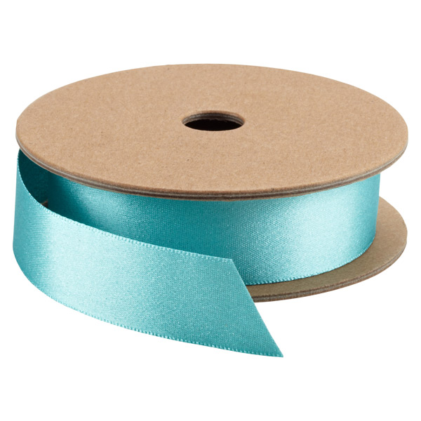 Glitter Double Satin Ribbon Ocean