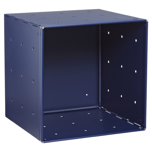 QBO® Steel Cube Enameled Blue