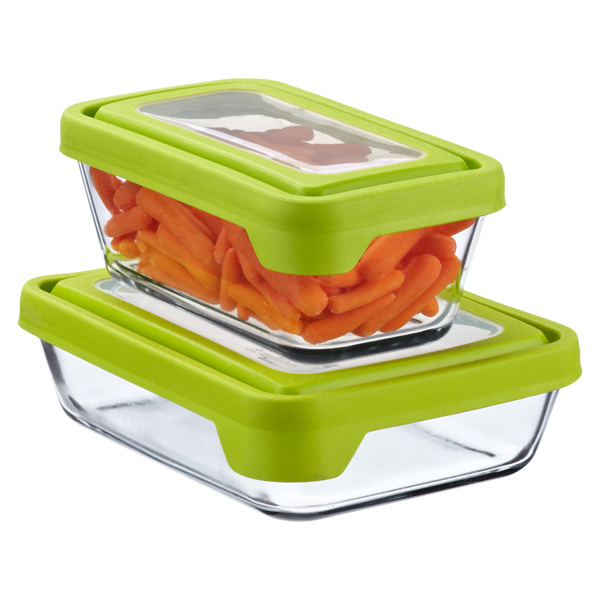 Anchor Hocking Glass TrueSeal Rectangle Food Storage