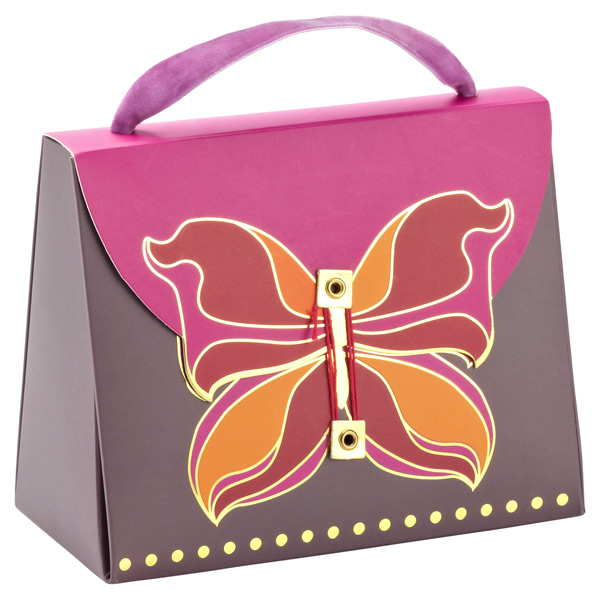 Deco Butterfly Candy Purse