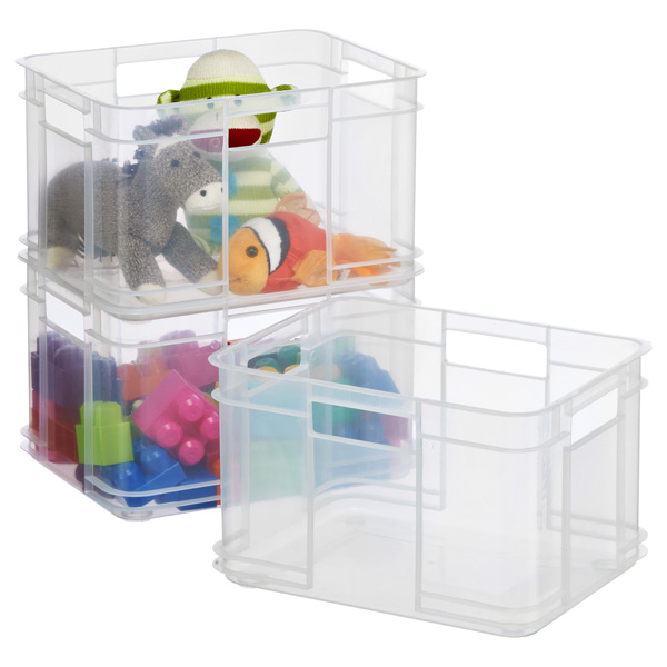 Small European Commercial Crate  sc 1 st  The Container Store & Small European Commercial Crate | The Container Store