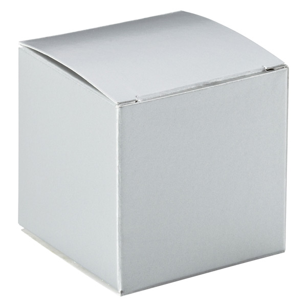Cube Gift Box Silver