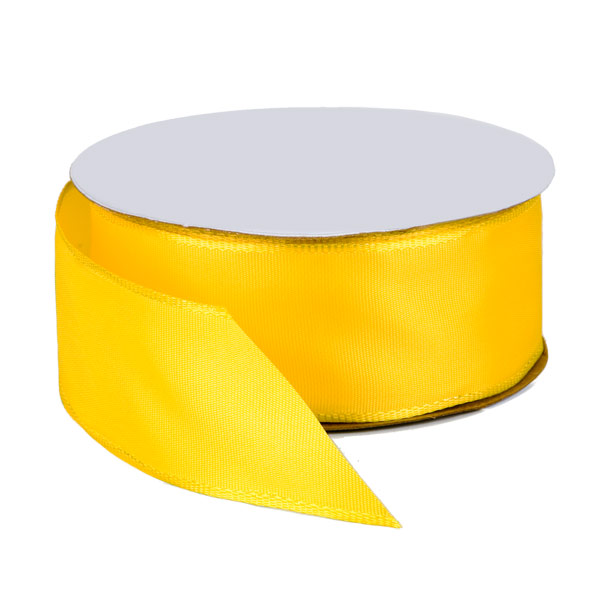 Yellow Wired Ribbon