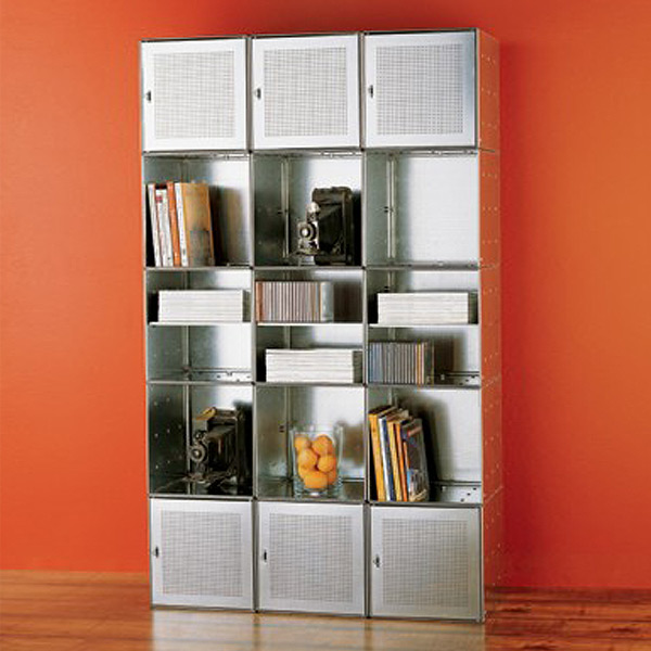 Galvanized QBO Steel Cube Wall The Container Store