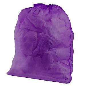 Mesh Laundry Bag Plum