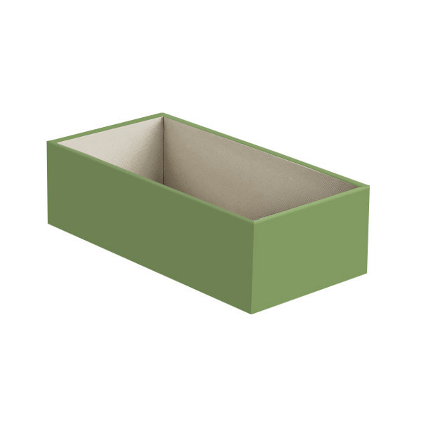 Narrow Open Drawer Organizer Verde
