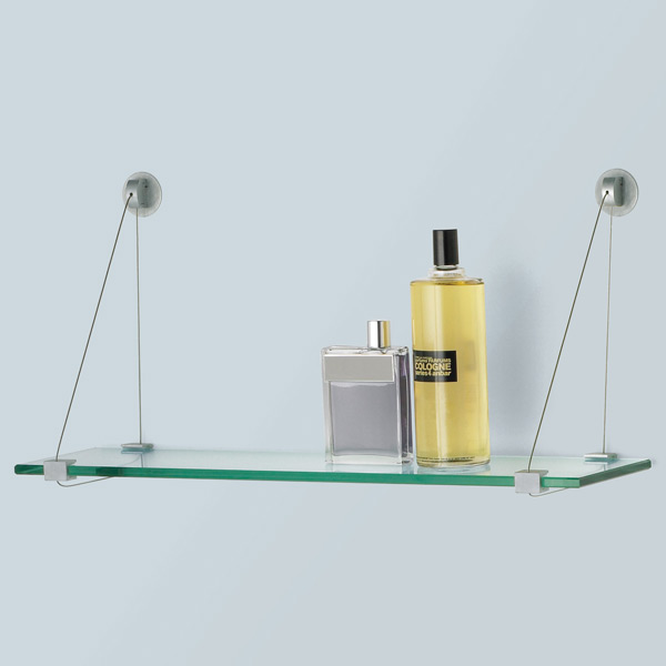 Inch Floating Glass Shelves
