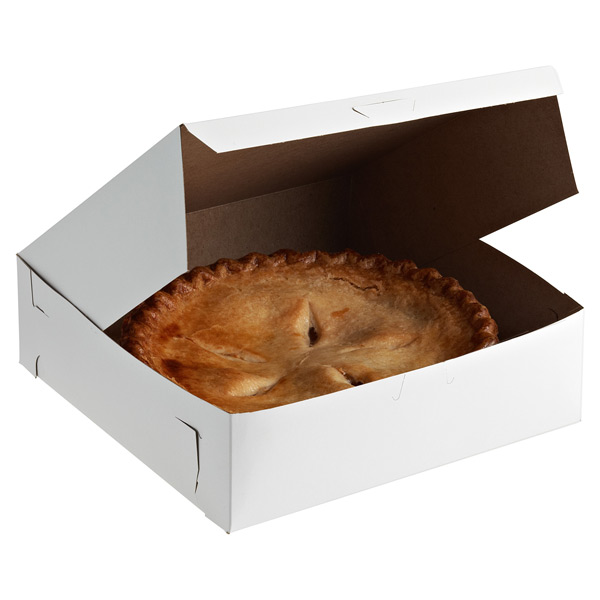 Pie/Pastry Box White