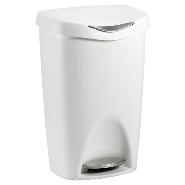 Umbra® 13 gal. Brim Can White