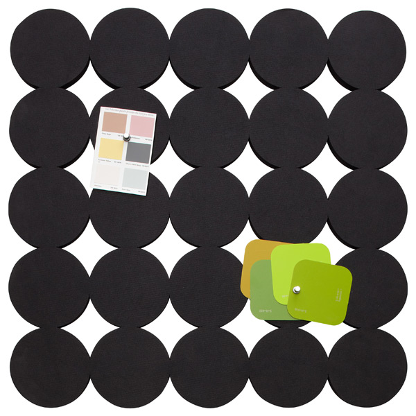 Dot Bulletin Board Black