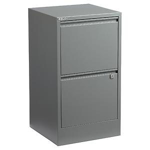 Bisley 2-Drawer File Cabinet Graphite