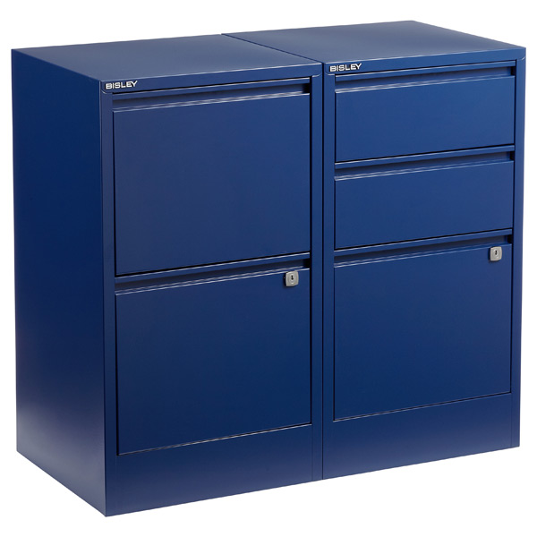 Oxford Blue Bisley® File Cabinets