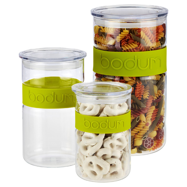 Green Band Presso Glass Canisters by Bodum®