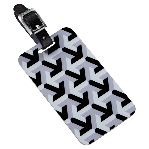RuMeID™ QR Luggage Tag Silicon Valley Grey