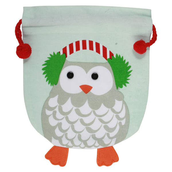 Medium Cotton Sack Whimsy Owl