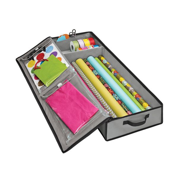 Grey Wrap Amp Tote Organizer The Container Store