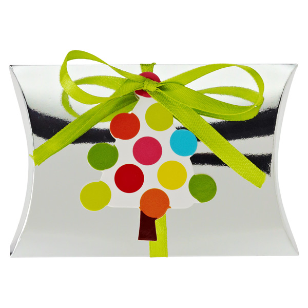 Gift Card Pouch Dot Tree