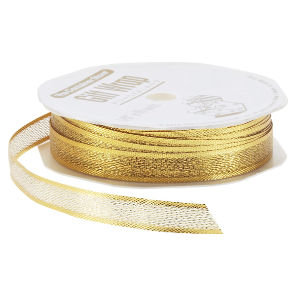 Ribbon Metallic Gold