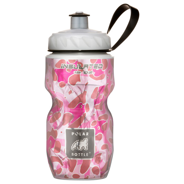 12 oz. Insulated Polar Bottle™ Pink Leopard