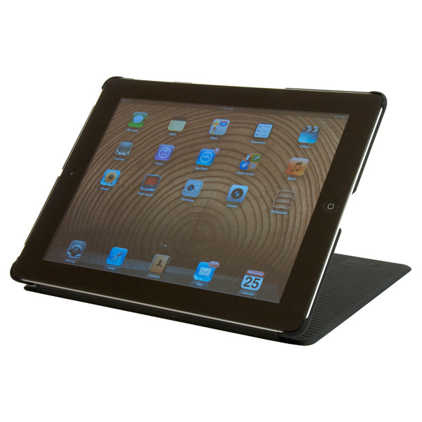 Grip iPad® Cover & Stand Black