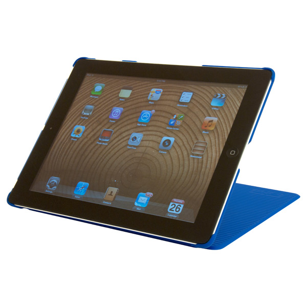 Grip iPad® Cover & Stand Blue