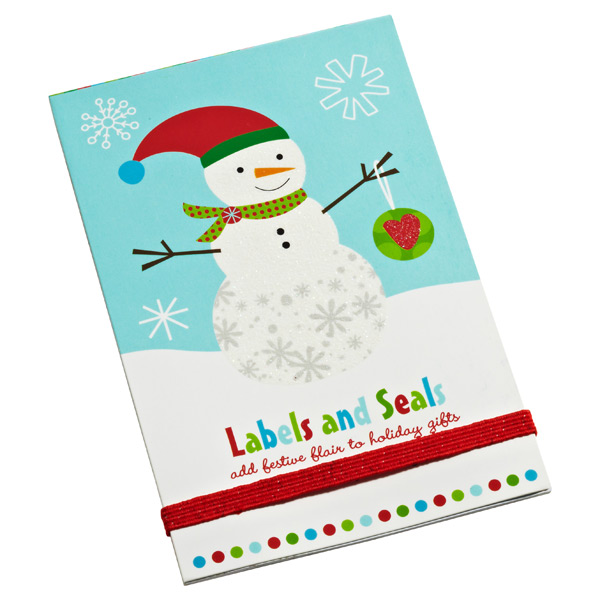 Label/Seal Book Christmas Pals