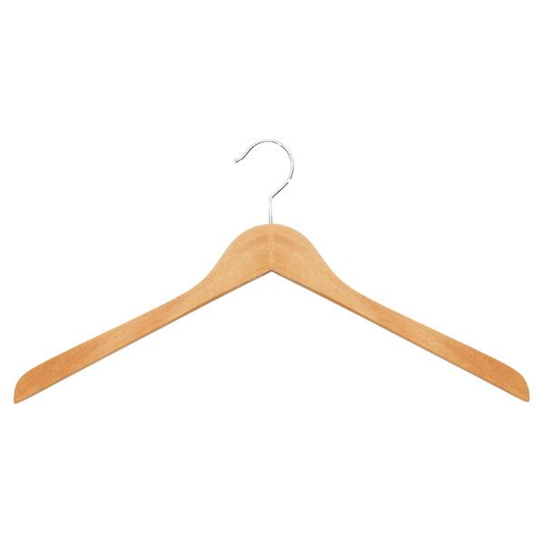 Wooden Coat Hangers - Oversized Natural Wooden Hangers  05653f387bf