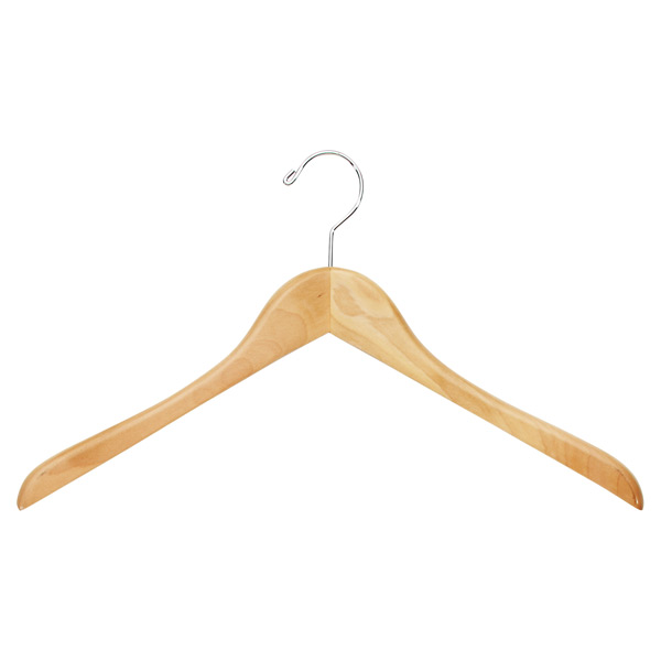 Premium Coat & Shirt Hanger Natural
