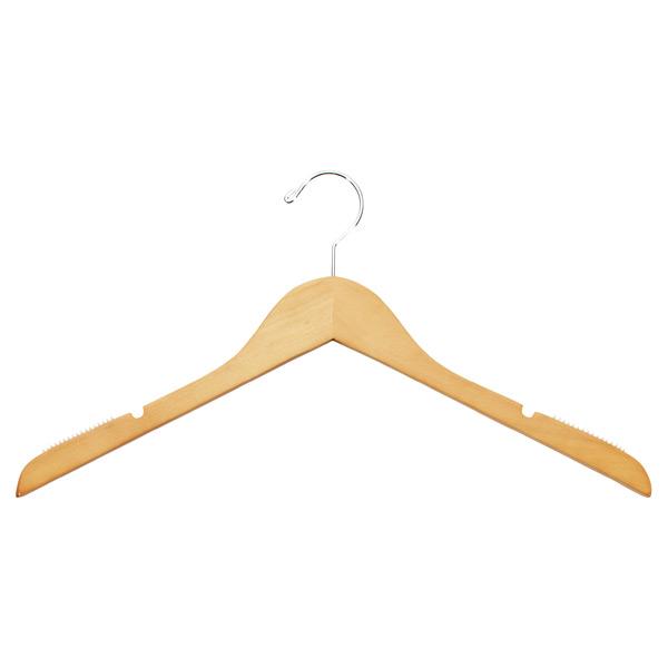 Basic Blouse Hanger Natural Pkg/6 ...