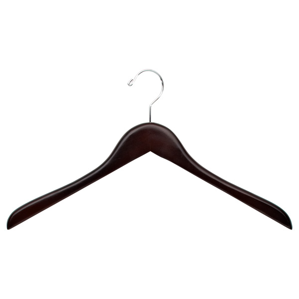 Premium Coat & Shirt Hanger Walnut