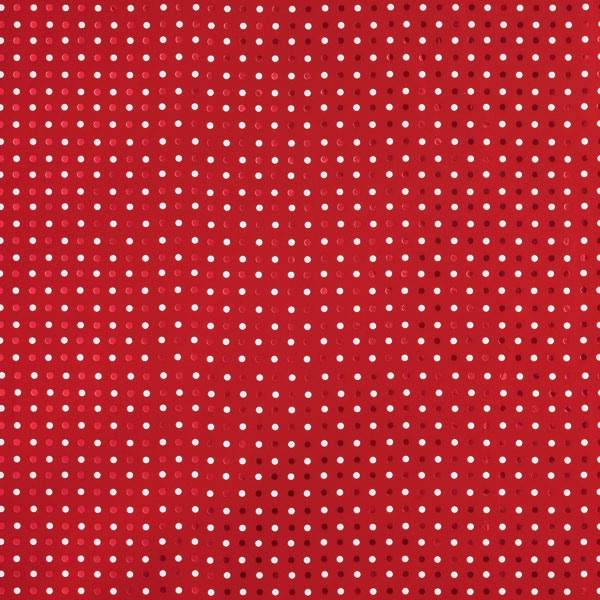 Foil & Dots Wrap Red