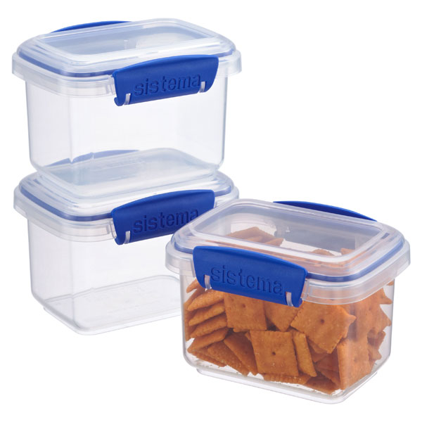 13.5 oz. Klip-It® Snack Boxes 400 ml. Pkg/3